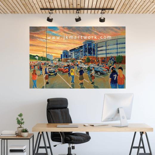 Hampden Park Football Ground Wall Sticker