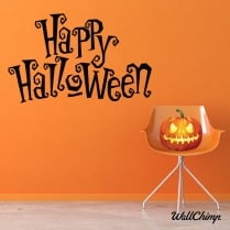 Happy Halloween Three Wall & Window Sticker