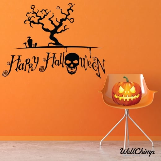 Happy Halloween Two Wall & Window Sticker