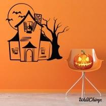 Haunted House Wall & Window Sticker