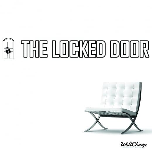Holly Martyniuk The Locked Door Custom Wall Sticker WC556QT
