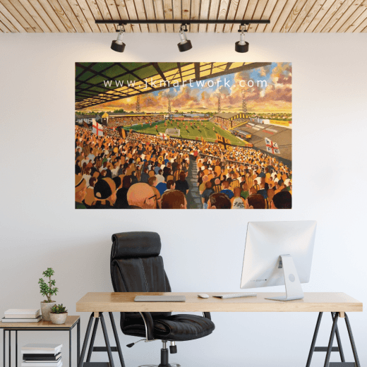 Hull City, Boothferry Park Football Ground Wall Sticker