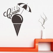Ice Cream Wall Sticker