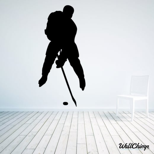 Ice Hockey Player Two Wall Sticker