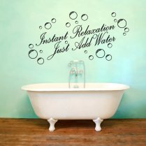 Instant Relaxation Wall Sticker Quote