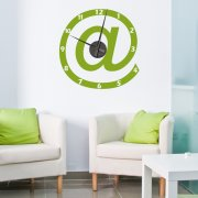 Internet Wall Sticker Clock
