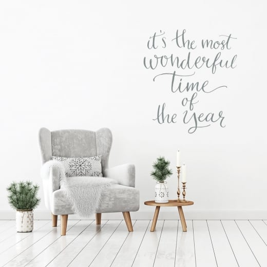 It's The Most Wonderful Time Of The Year Wall & Window Sticker