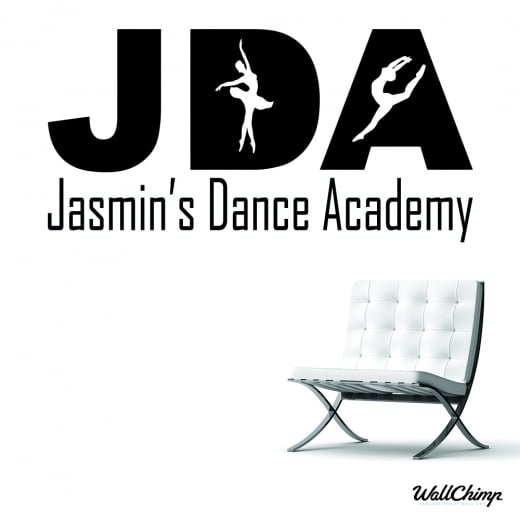 Jasmin's Dance Academy Custom Wall Sticker WC607QT
