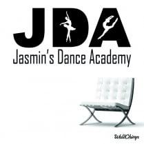 Jasmin's Dance Academy Custom Wall Sticker WC607QT