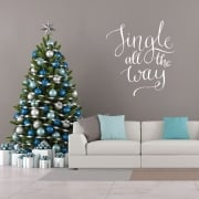 Jingle All The Way Wall & Window Sticker