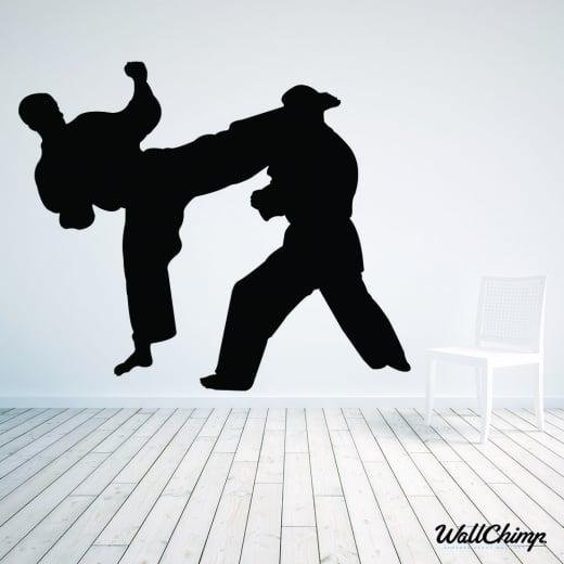 Judo Wall Sticker