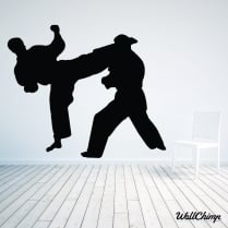 Judo Wall Sticker