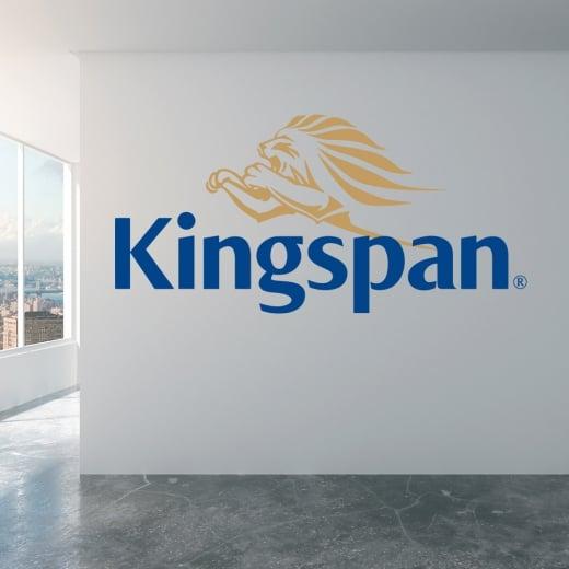 kingspan company logo wall sticker wc440qt - from wall chimp uk