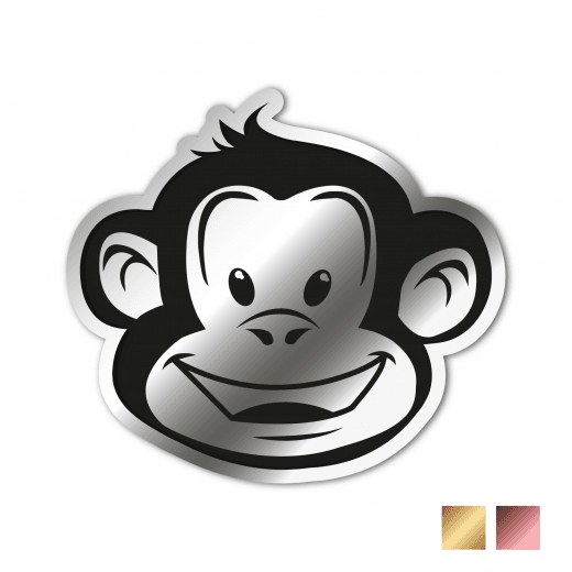 Kiss Cut Stickers - Chrome