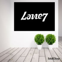 Lane7 Custom Vinyl Matt Wall Stickers WC506QT