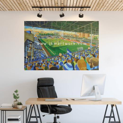 Leicester City, Filbert Street Football Ground Wall Sticker