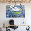 Leicester City, King Power Stadium Football Ground Wall Sticker
