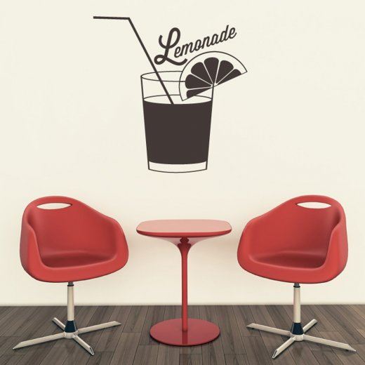 Lemonade Kitchen Wall Sticker