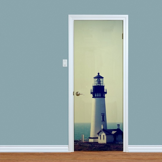 Lighthouse portrait Printed Doors