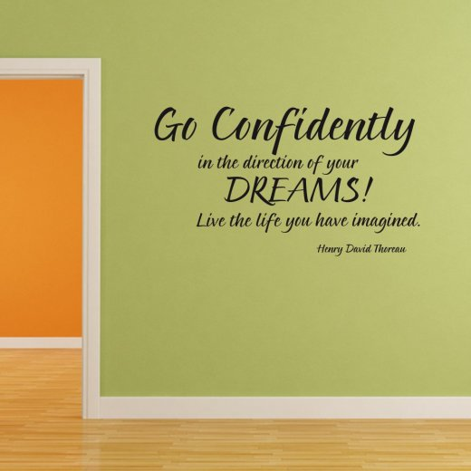Live The Life Wall Sticker Quote