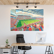 Liverpool, Anfield Football Ground Wall Sticker