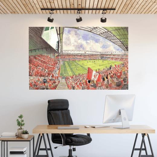 Liverpool, Anfield Football Ground Wall Sticker
