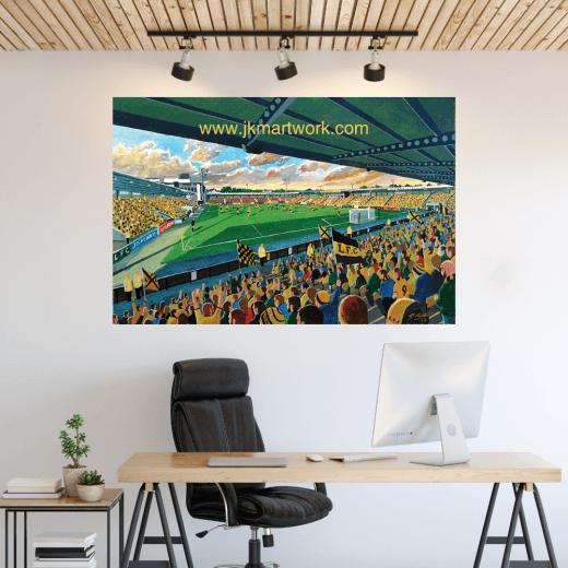 Livingstone, Almondvale Stadium Football Ground Wall Sticker