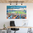 Luton Town, Kenilworth Road Football Ground Wall Sticker