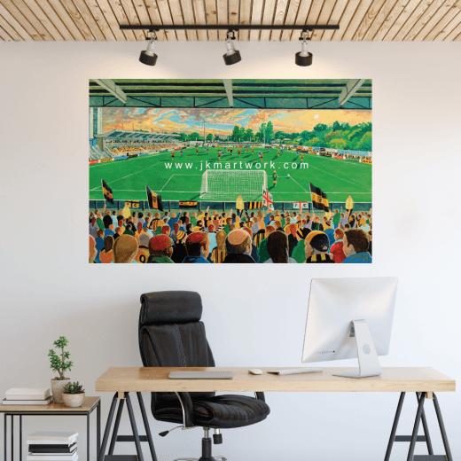 Maidstone United, Gallagher Stadium Football Ground Wall Sticker