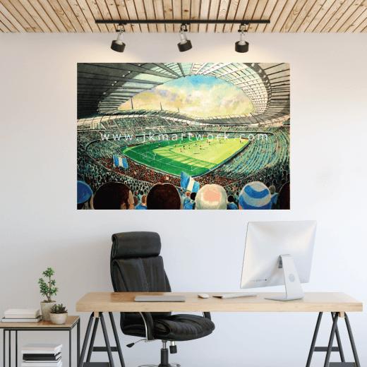 Manchester City, Etihad Stadium Football Ground Wall Sticker