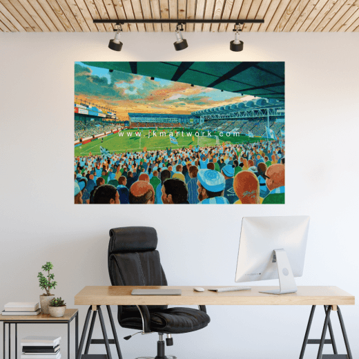 Manchester City, Maine Road Football Ground Wall Sticker