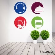 Mandy Croft May Day Employment Logo Wall Stickers WC490QT