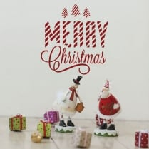 Merry Christmas Wall & Window Sticker