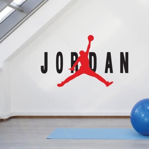 Michael Jordan Silhouette Wall Sticker