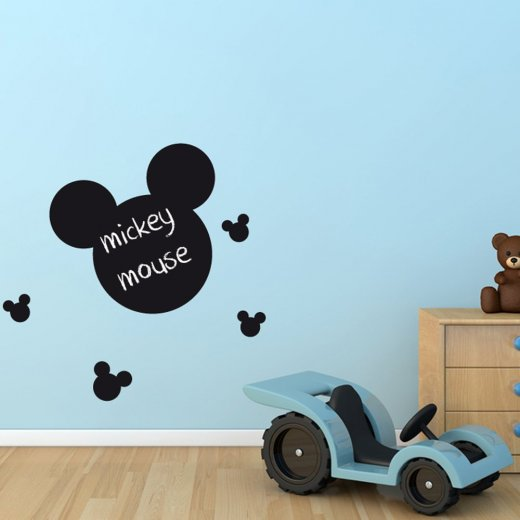 Mickey Mouse Blackboard Wall Sticker