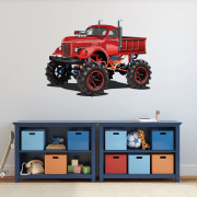 Monster Truck Wall Sticker