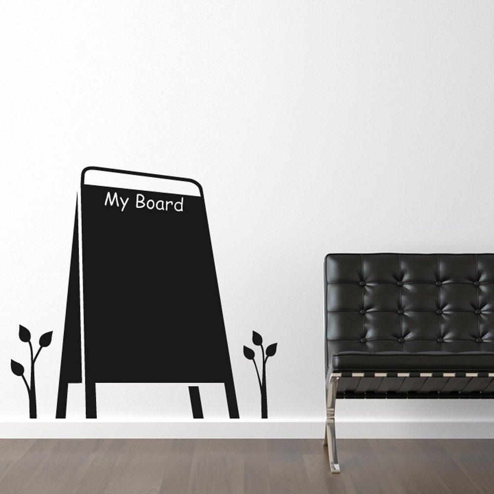 my board blackboard wall sticker wall chimp uk blackboard wall sticker achica