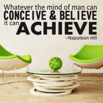 Napoleon Hill Mind Wall Sticker Quote