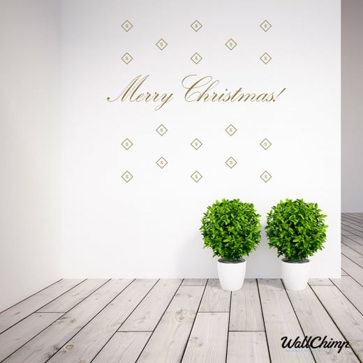 Nell Monck Custom Company Christmas Wall Sticker WC543QT