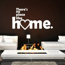 No Place Like Home Wall Sticker Quote