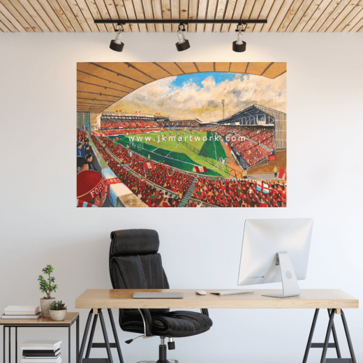 Nottingham Forest, The City Ground Football Ground Wall Sticker