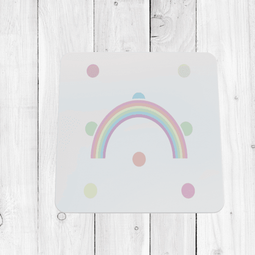 Pastel Rainbow Coaster