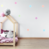 Pastel Rainbow Polka Dot Sticker Pack