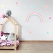 Pastel Rainbow & Polka Dot Sticker Pack