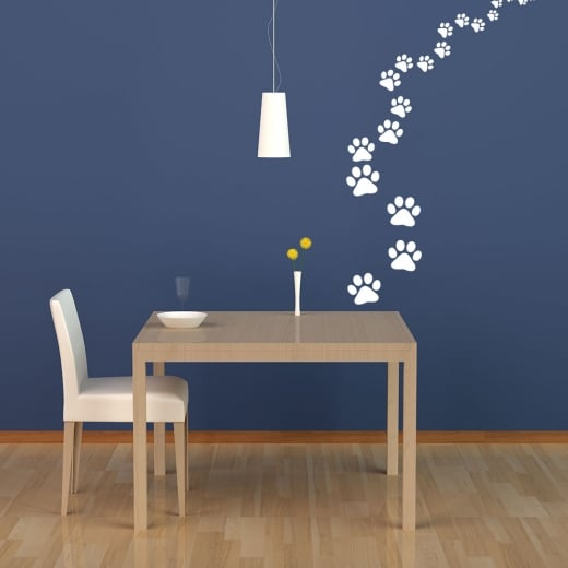 Paw Prints Wall Sticker