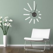 Pebbles Wall Sticker Clock