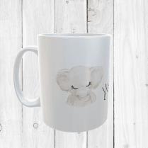 Personalised Elephant Mug