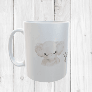 Personalised Elephant Mug