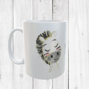 Personalised Zebra Mug