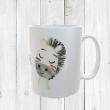 Personalised Zebra Mug